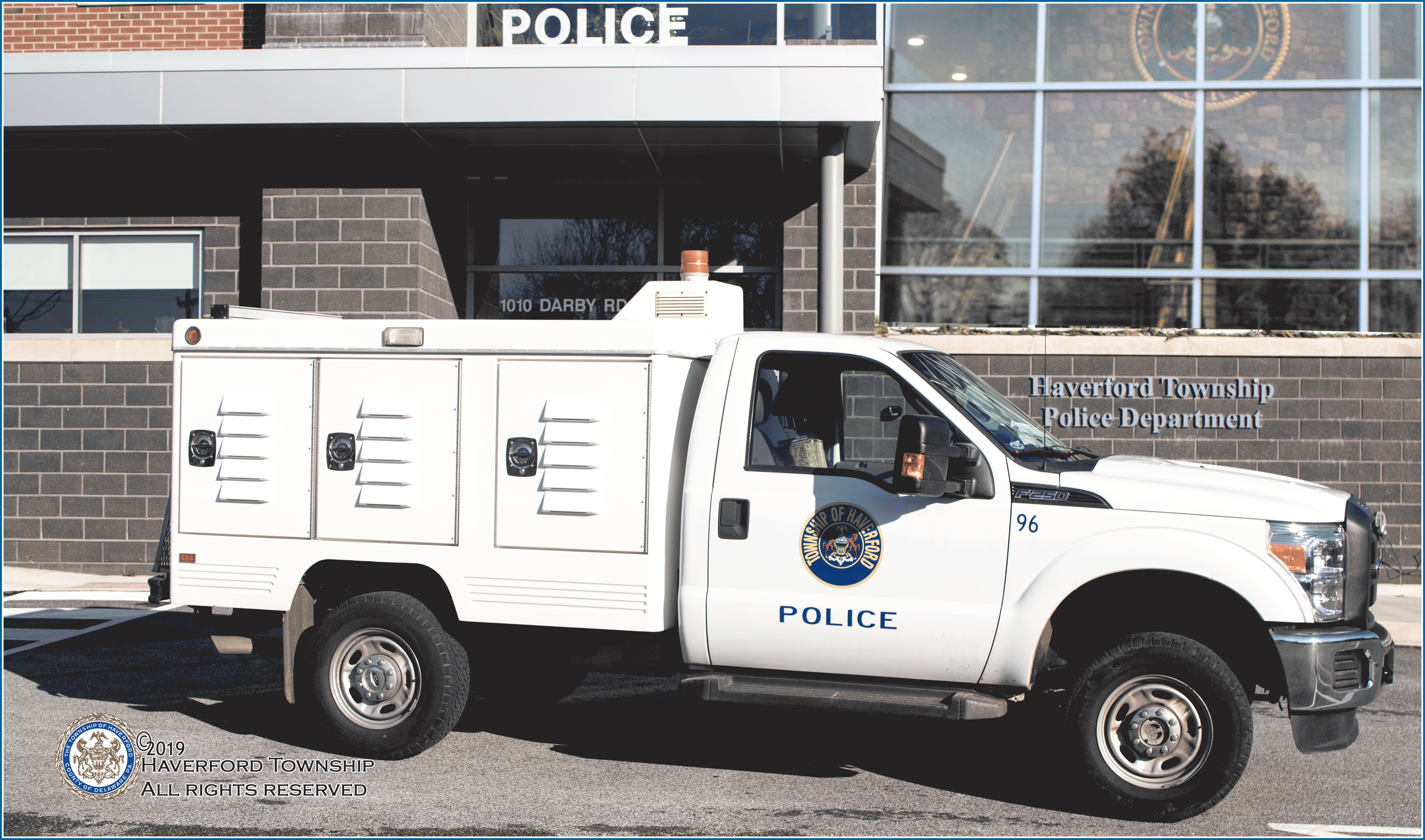 Image of the Animal Control vehicle