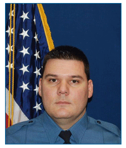 Picutre of Joseph McGibney 2015 Officer of the Year